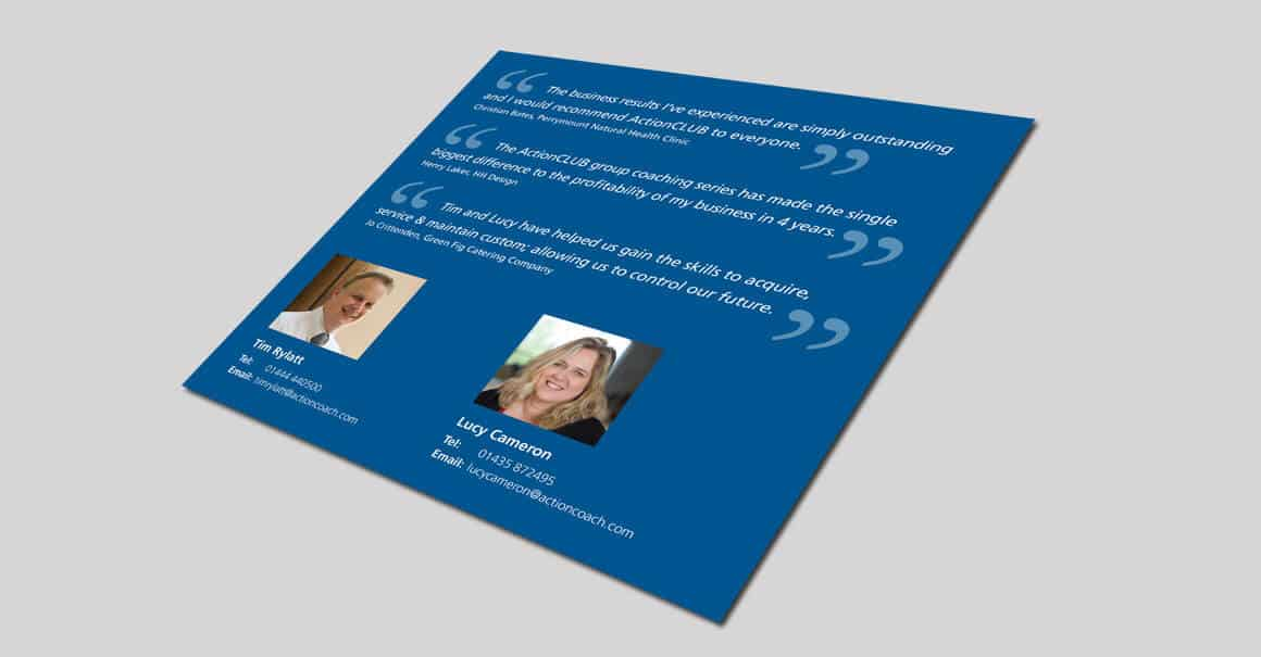 Marketing Brochure Design West Sussex