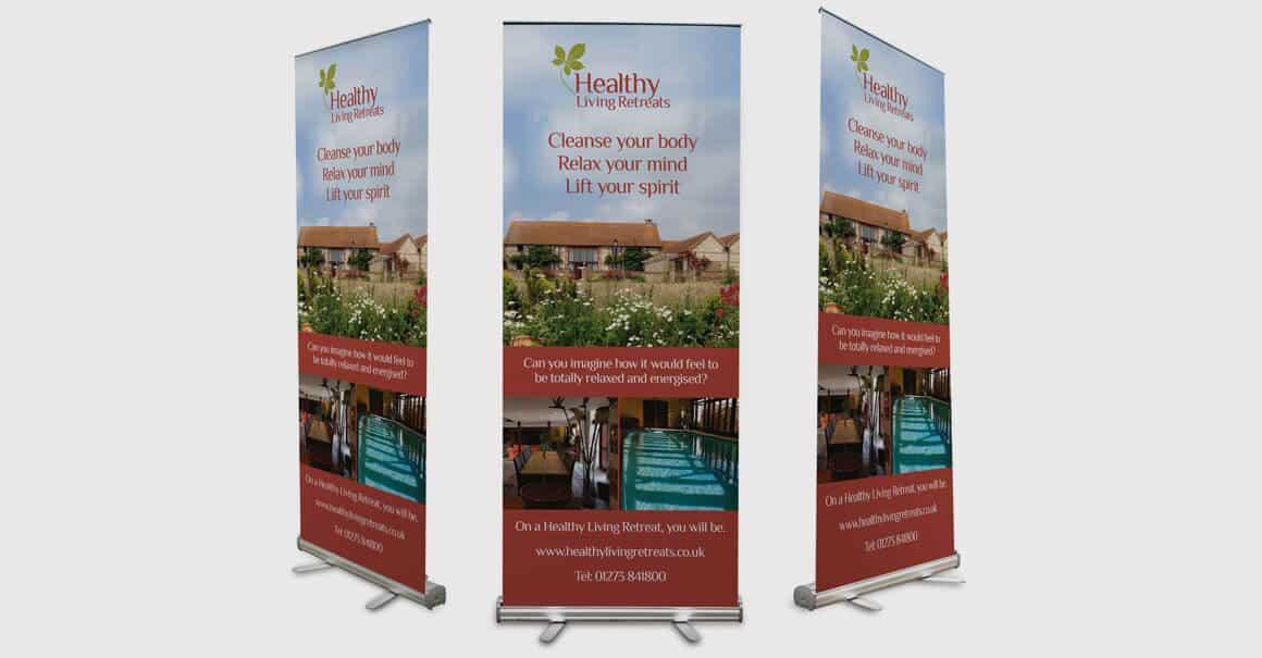 Roller Banner Design Haywards Heath