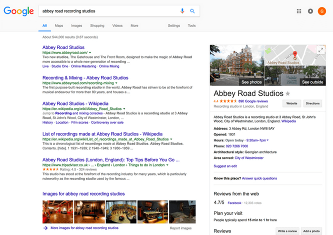 Boost your Ranking on Google