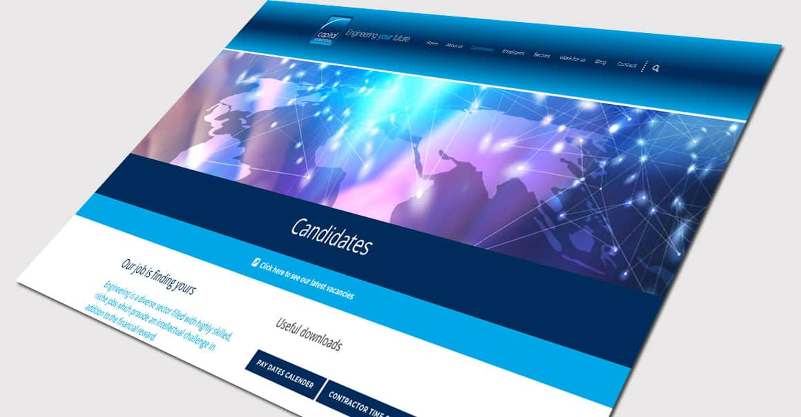 Specialist Recruitment Company Website Design