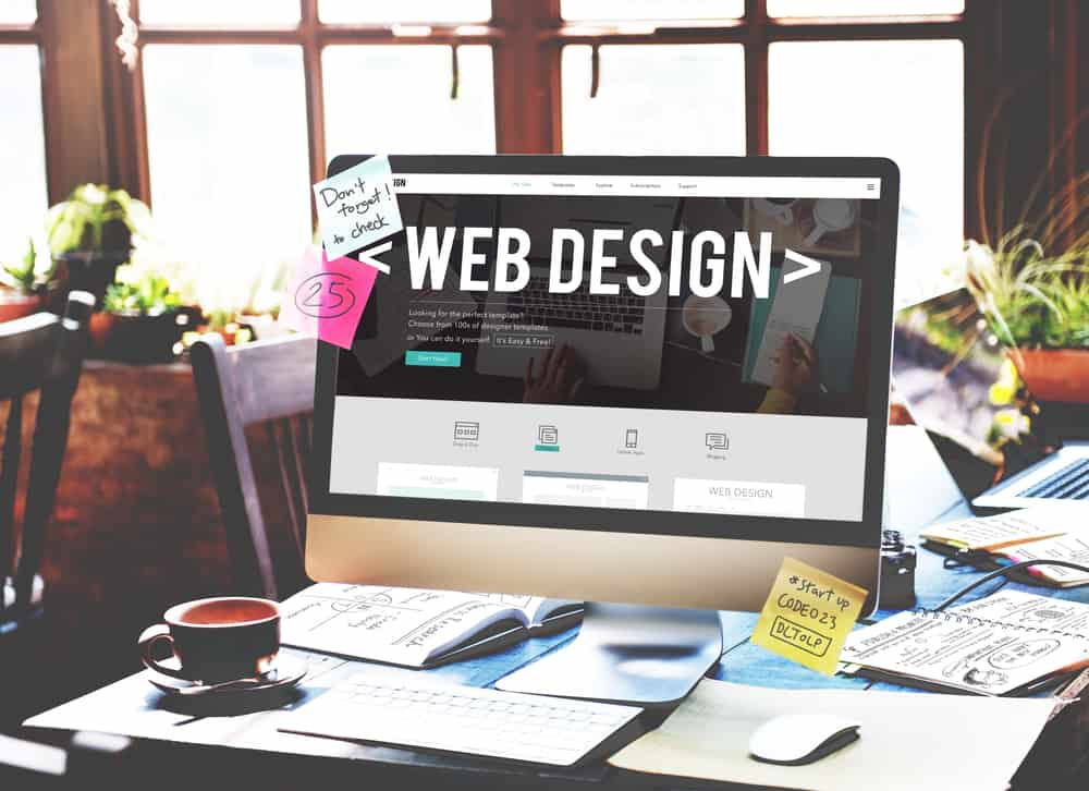 Web design for florists