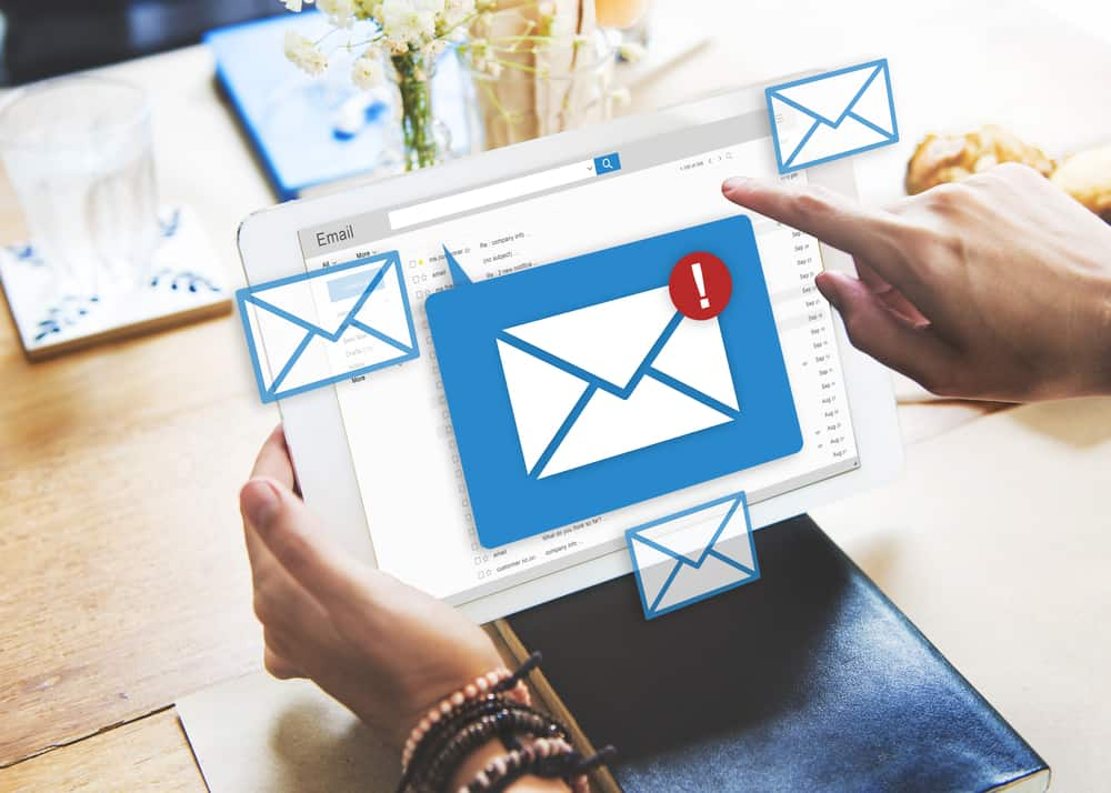 email campaign sent by email marketing agency