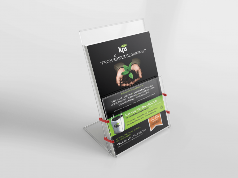 example of flyer from design and print agency Growth By Design