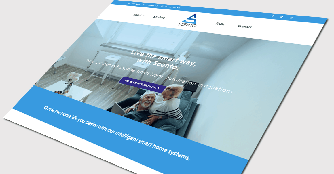 example of work from web design agency Brighton growth by design